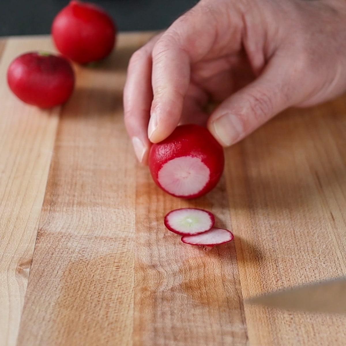 end of radish cut-off