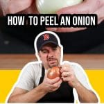 frustrated peeling an onion