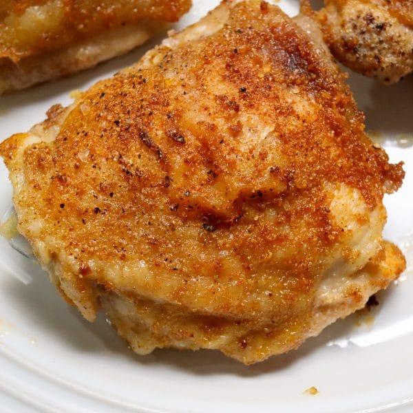 baked bone-in chicken thighs