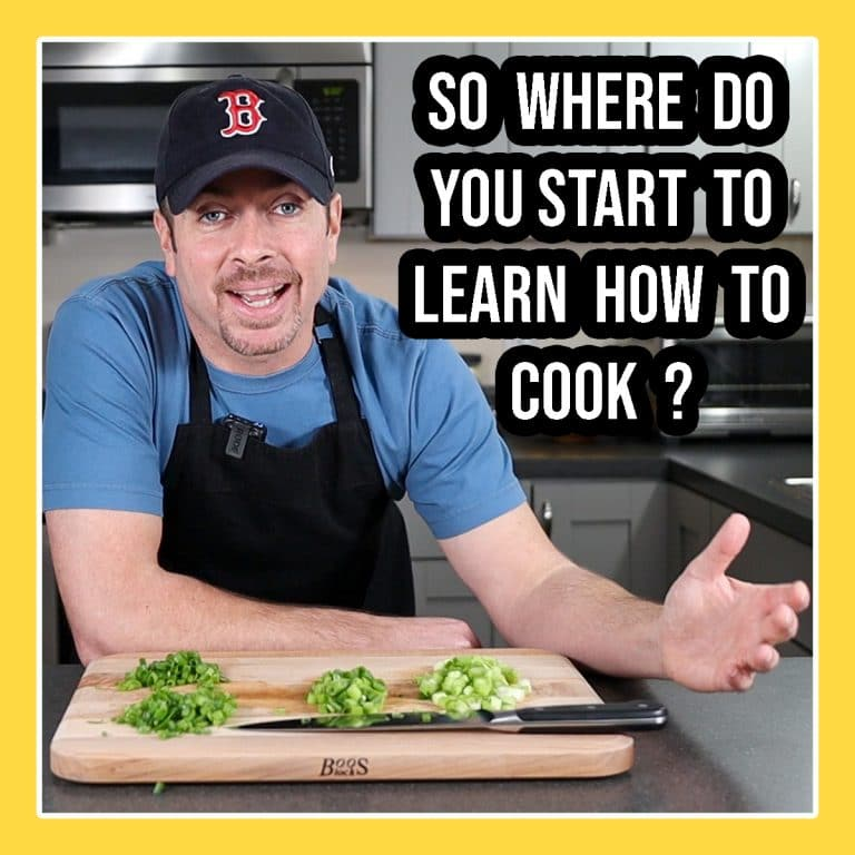 How to learn to cook