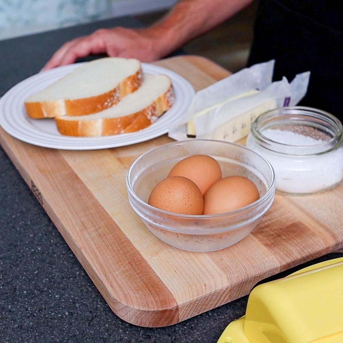ingredient ready on a cutting board