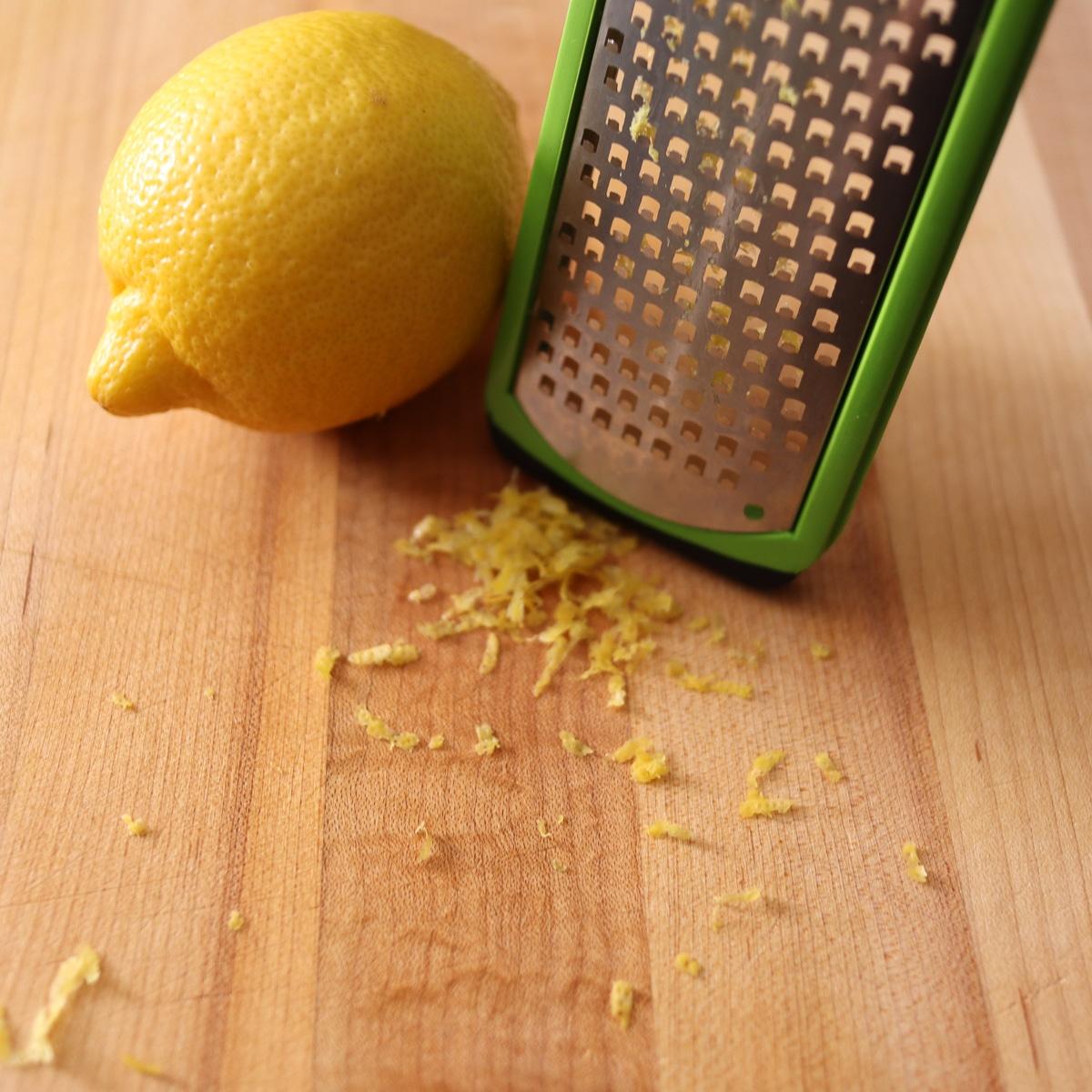 lemon zest microplane