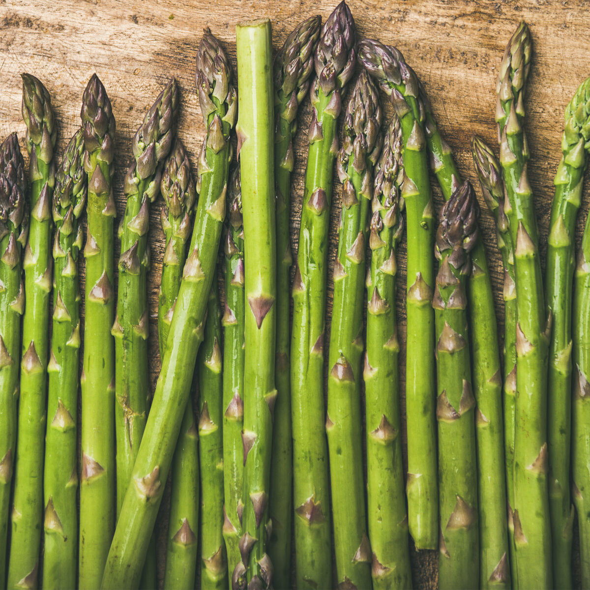 storage of asparagus