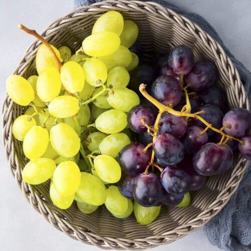 storing grapes