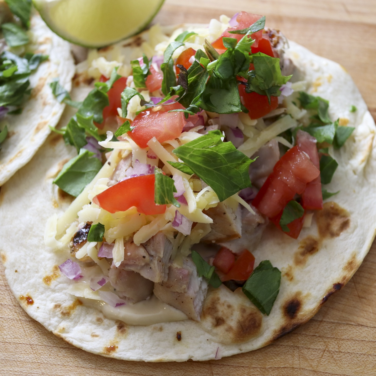Building the tacos